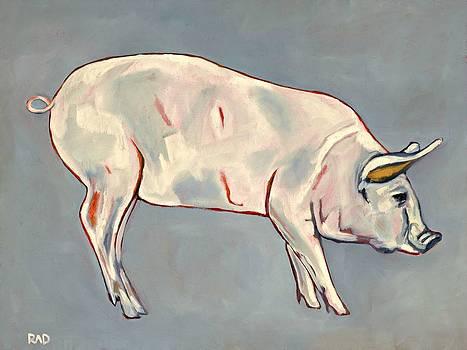 Blue Pig by Randine Dodson