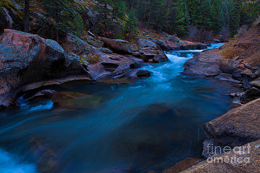 Blue Platte by Barbara Schultheis