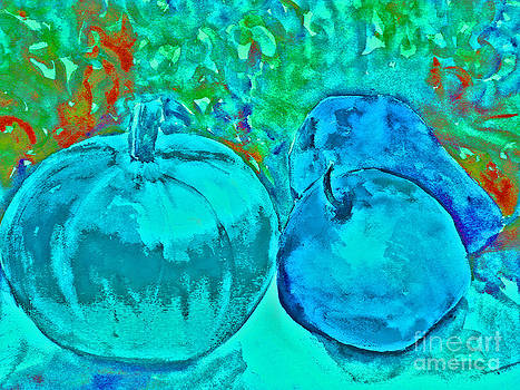 Blue Pumpkin by Jessamine Barron