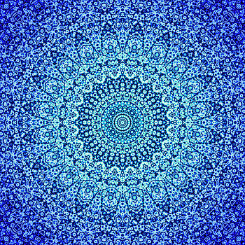 Blue Quasicrystal by Dan Gries