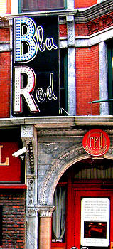 Blu Red Tammany Hall Worcester MA by Mike McCool