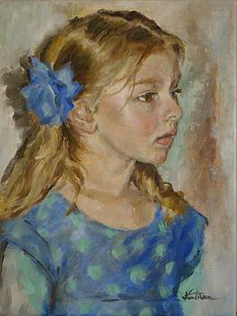 Blue Ribbon by Veronica Coulston