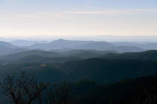 Blue Ridge at Dawn by Teresa Tilley