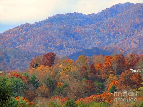 Jaclyn Hughes Fine Art - Blue Ridge from a Distance
