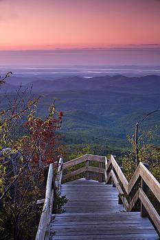Blue Ridge Morning by Andrew Soundarajan