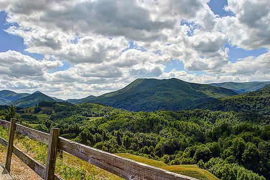 Blue Ridge Mountains by David Clark