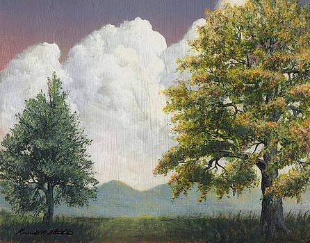 Blue Ridge Mountains by Kenneth Stockton
