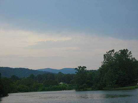 Blue Ridge Mountains-Virginia by Janet Moses