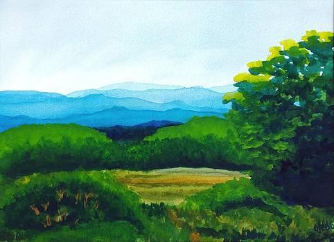Blue Ridge Overlook by Catherine Jeffrey
