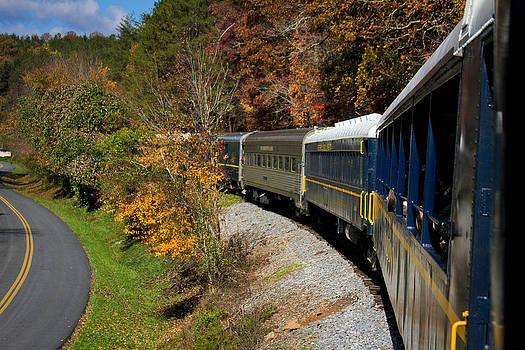 Blue Ridge Scenic Railway by Soccer Dog Design