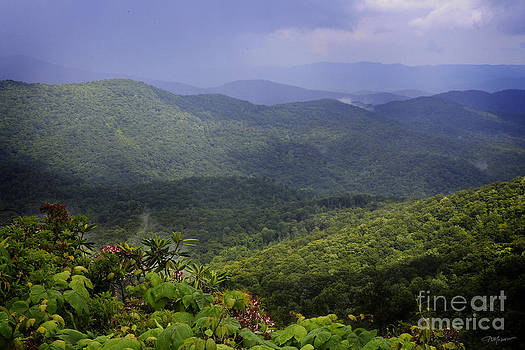 Blue Ridge vista by Kelly Morrow