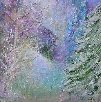 Blue Ridge Winter's Eve by Laura Nance