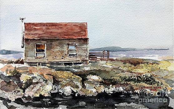 Blue Rocks Nova Scotia by Monte Toon