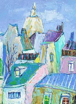 Blue roof by Siang Hua Wang
