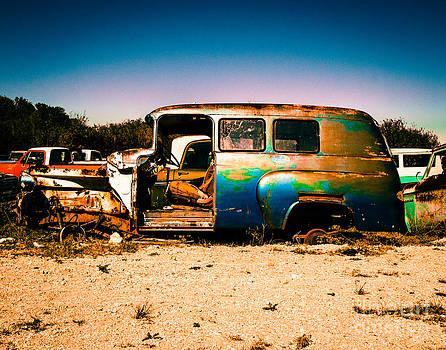 Sonja Quintero - Blue Rusty Truck