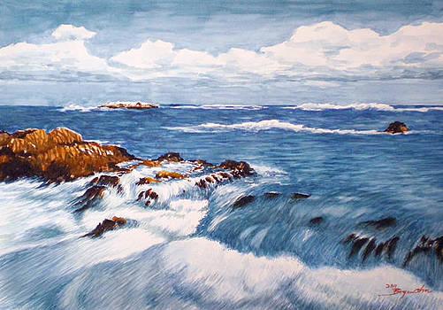 Blue Sea by Bryan Ahn