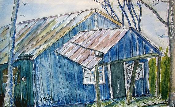 Blue Shack by Spencer  Joyner