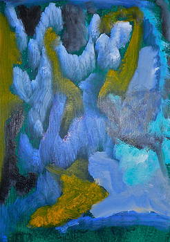 Blue Shadows by Marge Healy