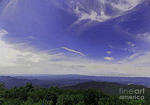 Blue Skies by Annette Allman