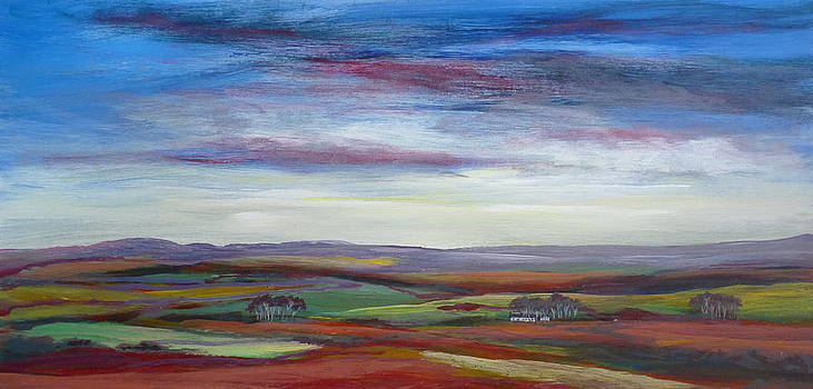 Blue Skies by Hazel Millington