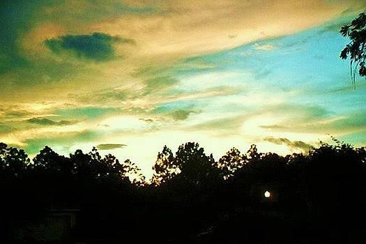 Blue Skies by Yolanda Rodriguez
