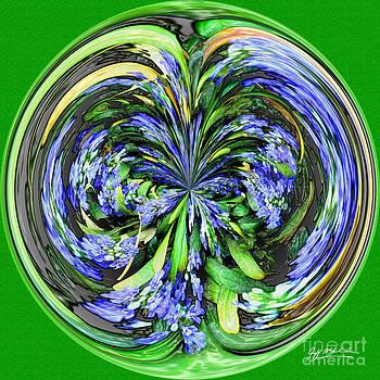 Jeff McJunkin - Blue Splat Orb