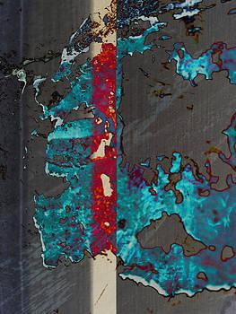 Blue Splat by Robert M Cooper