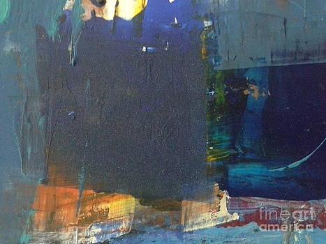 Blue Squares by Omar Hafidi