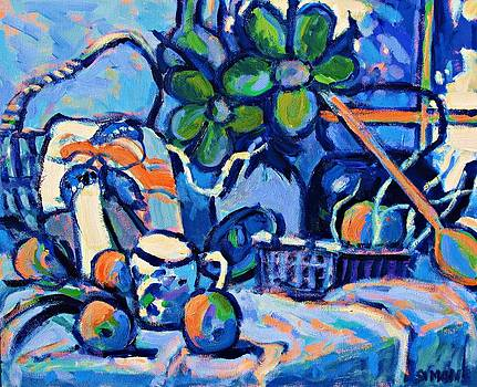 Blue Still Life by Brian Simons