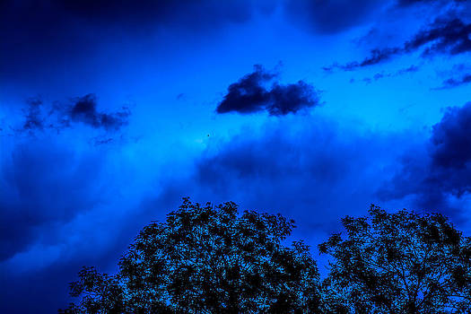 Blue Stormy Sky by Jason Brow