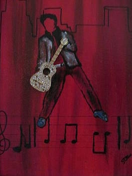 Blue Suede Shoes by Susan Voidets