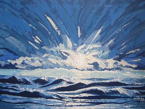 Blue Sunrise by Andrei Attila Mezei