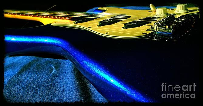 Blue Up Close by Garren Zanker