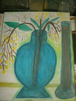 Blue Vase by Ketina Winston