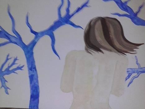 Blue Vein Lady by E S Cobb