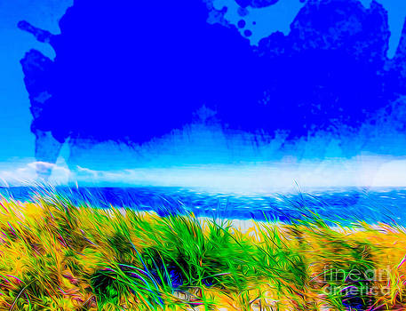Algirdas Lukas - Blue Watercolor Overlay