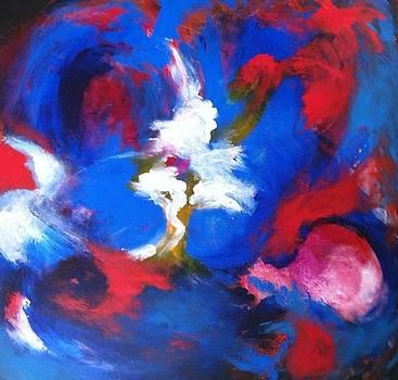 Blue Whirl by Bebe Brookman