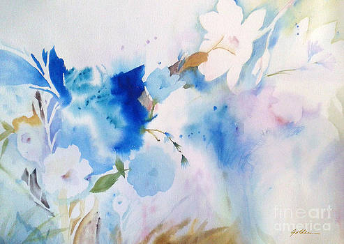 Blue Whispers by Sheila Golden