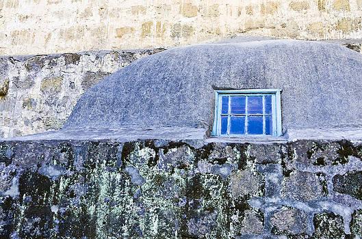 Priya Ghose - Blue Window At Mission Santa Barbara
