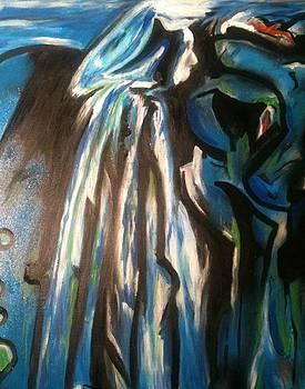Blue Woman by Thomas Falk