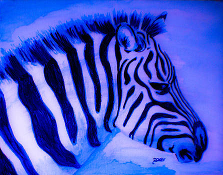 Blue Zebra by Scott Dokey