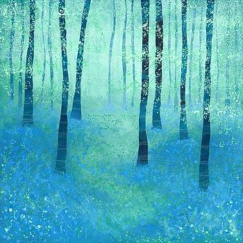 Bluebells Challock by Nic Squirrell