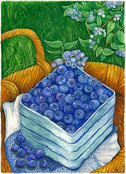 Blueberries by Barbara Esposito