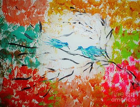 Bluebirds in the Light by Marie Bulger