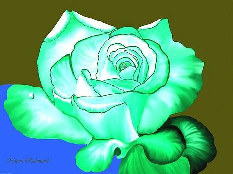 Naomi Richmond - Bluegreen Rose