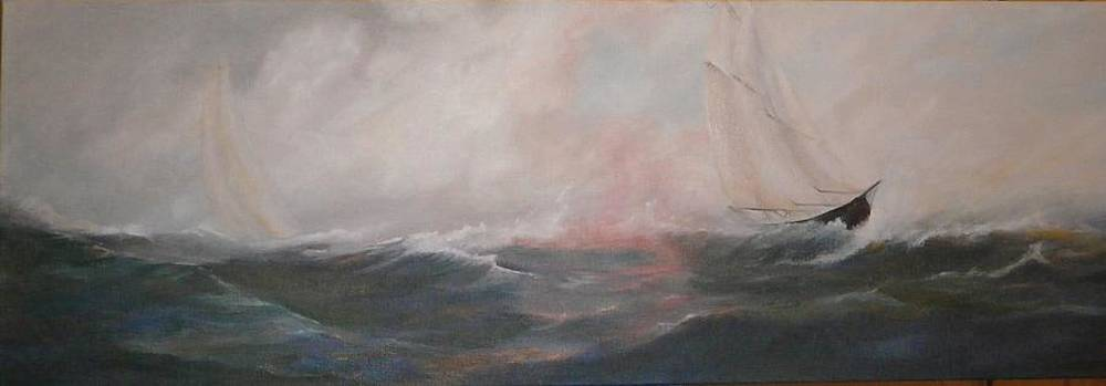 Bluenose race by Anne Marie Spears