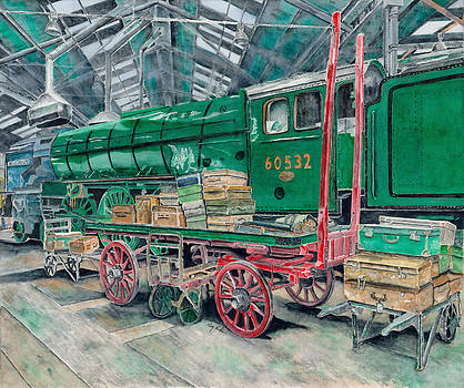 BluePeter London Railroad by Gary Roderer