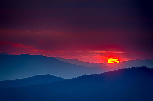 Blueridge Burning by Brian Young