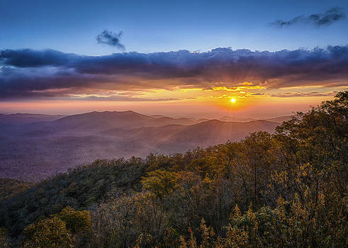 Blueridge Morning by Brian Young