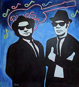 Blues Bro's by Patricia Hooks